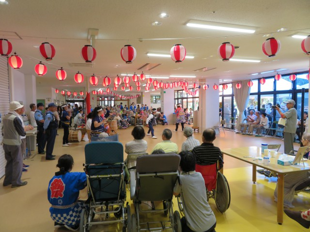 桜英水苑『夏祭りを開催しました!』