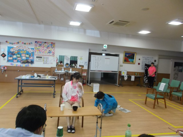 第二回介護技術コンテストを開催しました!
