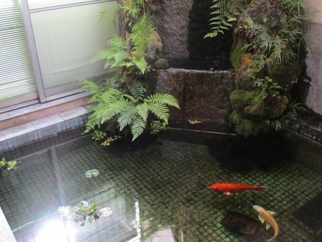 桜英水苑『癒しのスポット』
