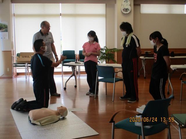 桜英水苑『普通救命講習会』