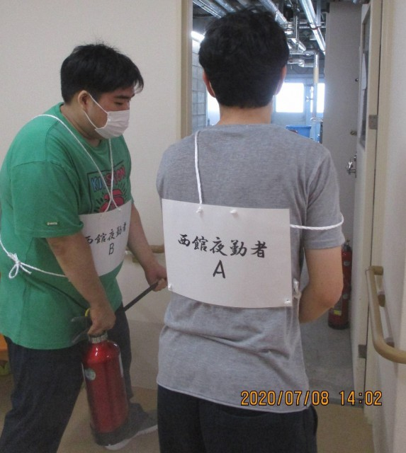 桜英水苑『消防訓練を行ないました!』