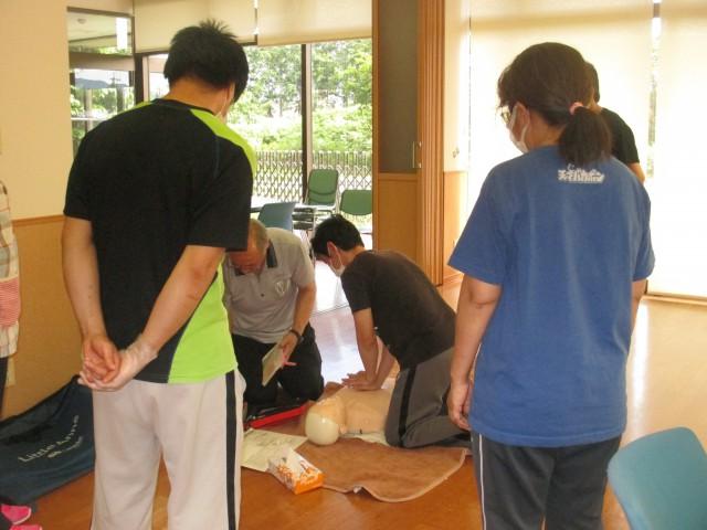 桜英水苑『普通救命講習会を開催しました!』