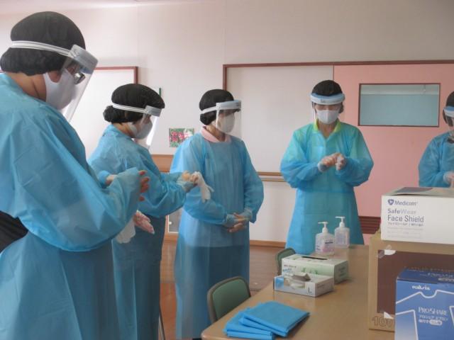 桜英水苑『第2回感染対策研修会を開催しました。』