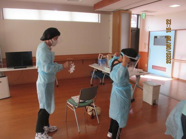 桜英水苑『第3回感染対策研修会を開催しました。』