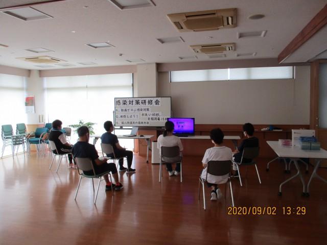 桜英水苑『第4回感染対策研修会を開催しました。』