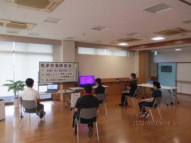 桜英水苑『第5回感染対策研修会を開催しました。』