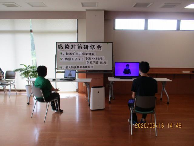 桜英水苑『感染対策研修会(第6、第7回)を開催しました。』