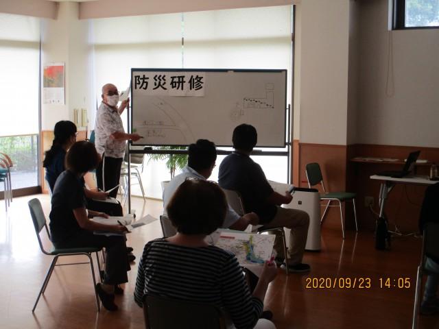 桜英水苑『防災研修を開催しました。』